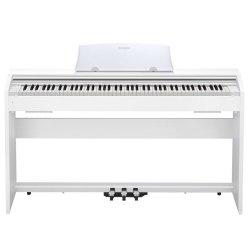 Casio PX770WE Privia 88-Key Digital Piano (White)