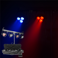 Chauvet DJ 4BARLT USB Wash Light Lighting Package with D-FI USB Compatibility for Wireless Control