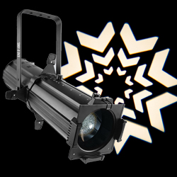 Chauvet DJ EVE E-100Z LED Ellipsoidal Spot Light Fixture with Gobo Patterns