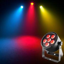 Chauvet DJ EZPar T6 USB Battery Operated RGB LED Wash Light with D-Fi USB Compatibility
