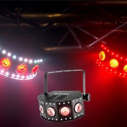 Chauvet FX Array Q5 Versatile Quad-Color (RGB+UV) LED Wash Effects Light