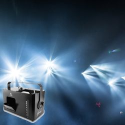 Chauvet Hurricane Haze 4D Low Profile Hazer with Adjustable Scoop for Directional Haze