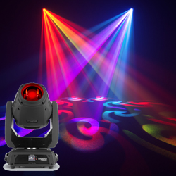 Chauvet DJ Intimidator Hybrid 140 SR Moving Head Fixture Switches Between Spot, Beam, and Wash