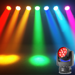 Chauvet DJ IntimWashZoom450-IRC Moving Head Wash Light with Twelve 15W RGBW LEDs
