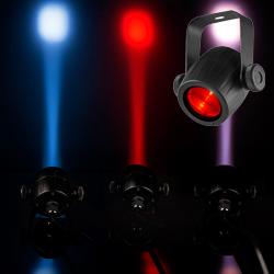 Chauvet DJ LED Pinspot 3 Palm Sized Pinspot with 5 Color Gels