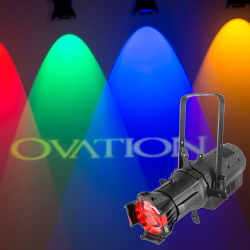 Chauvet Pro OVATION E-910FC RGBAL LED ERS-Style Lighting Fixture with Virtual Color Wheel