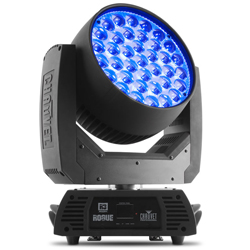 Chauvet Pro ROGUE R3 WASH RGBW LED Durable and Dependable Moving Head Wash Light