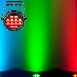 Chauvet DJ SlimPAR PRO Q USB RGBA LED Wash Light with D-Fi USB Compatibility for Wireless Control
