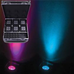 Chauvet DJ FREEDOM-FLEX-H4IPX6 Wireless Lighting System in a Rugged Case