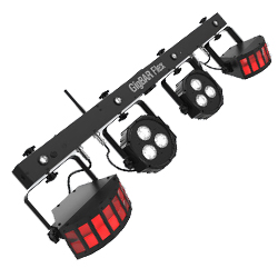 Chauvet DJ GIGBAR-FLEX Ultra Convenient 3-in-1 Pack and Go Lighting System with Wireless Control