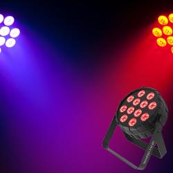 Chauvet DJ SLIMPAR-T12-BT Bluetooth Control 12 RGB LED Par Light
