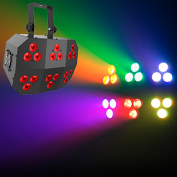 Chauvet DJ WASH-FX-2 Multi-Purpose RGB+UV Linear Wash Light