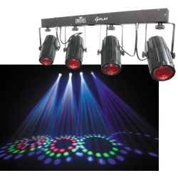 Chauvet 4PLAY LED Moonflower chase package