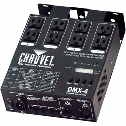 Chauvet DMX4 2.0 Four Channel Dimmer/Relay Pack