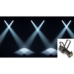 Chauvet Professional Ovation Min-E-10-WW LED Ellipsoidal Spot with 19 Degree Lens
