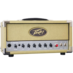 Peavey 03614150 CLASSIC 20 MH 20W/5W/1W Tube Guitar Amplifier Head with 2 Channels