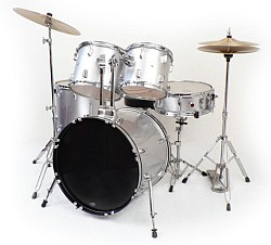Westbury W575TGT 5 piece stage drum kit (No Cymbals) - Grey