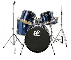 Westbury W575TUT 5 piece stage drum kit (no cymbals) - Indigo Blue