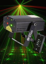 American DJ Micro Star Green & Red Laser - Discontinued Clearance