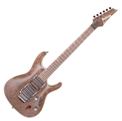 Ibanez S970CW-NT Premium S Model 6 String Electric Guitar in Natural (discontinued clearance)