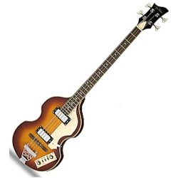 Jay Turser JTB2BVS Beatle Bass - Acoustic Electric Bass Guitar