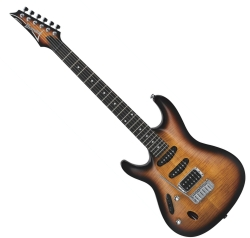 Ibanez SA160FMLTYS Electric Guitar LH - Transparent Yellow Sunburst (discontinued clearance)