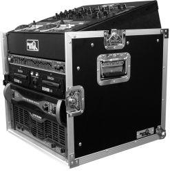 Road Ready RRM8U 10U Slant Mixer Rack 8U Vertical Rack System