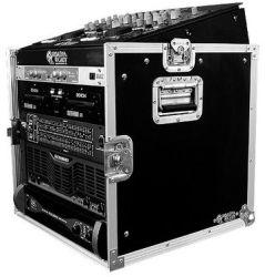 Road Ready RRM10U 10U Slant Mixer Rack 10U Vertical Rack System