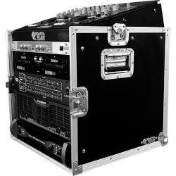Road Ready RRM12U 10U Slant Mixer Rack 12U Vertical Rack System