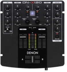 Denon DJ DN-X120 Mixer (clearance used - 9.5 condition)
