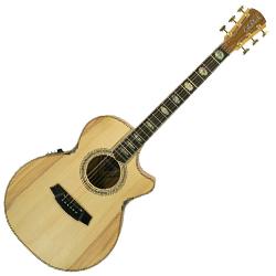 Cole Clark CCAN3EC-BB Grand Auditorium Guitar w/PU & Cutaway-Bunya/Blackwood