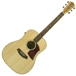 Cole Clark CCFL2E-BB Dreadnought Guitar w/PU - Bunya/Blackwood