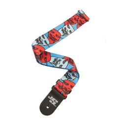 Planet Waves 50JS11 50mm Woven Joe Satriani Guitar Strap – Ghost