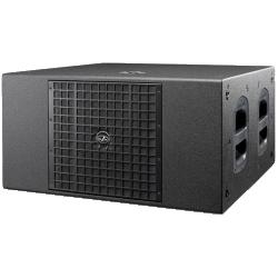 """D.A.S. ARTEC-322S 800-Watt 2x12"""" Compact Bass-Reflex Subwoofer System-Black"""