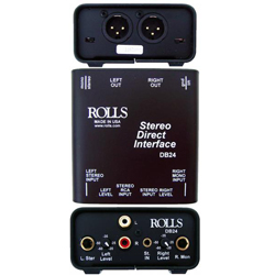 Rolls DB24 Stereo Direct Interface Isolation Device