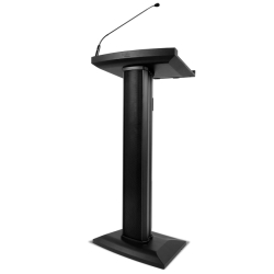 Denon Pro LECTERN ACTIVE Lectern with Active Speaker Array in Black
