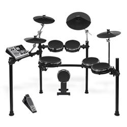 Alesis DM10 Studio Mesh Kit Six-Piece Electronic Drum Kit with Mesh Drum Heads