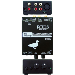 Rolls DU30b Mic-Preamp/Audio Ducker