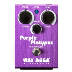 Dunlop WHE800 Way Huge Purple Platypus Octidrive MKII Guitar Effects Pedal