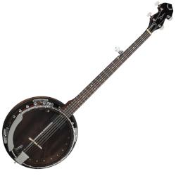 Dean BW2E 5-String Acoustic-Electric Banjo