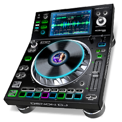 Denon DJ SC5000 PRIME Professional Media Player and Controller with 7 Inch Multi-Touch Display