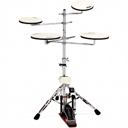 Drum Workshop DWCPPADTS5 Go anywhere practice pad kit with stand