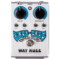 Dunlop WHE702S Way Huge Electronics Echo Puss Standard Delay Guitar Effects Pedal