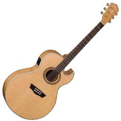 Washburn EA40SCE Cumberland Series 6 String Acoustic Electric Guitar