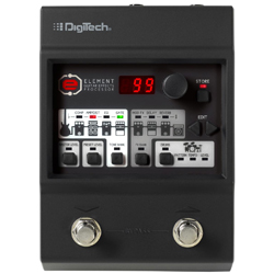 Digitech ELMT Element Guitar Multi-Effects Pedal with Up To 100 Custom Presets