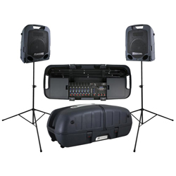 Peavey 03608630 ESCORT 6000 Bluetooth Enabled All In One 600 Watt 9 Channel PA System