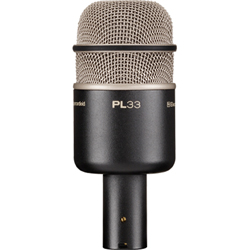 Electro Voice PL 33 Kick drum microphone, Dynamic, Supercardioid