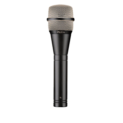 Electro Voice PL80A Vocal microphone, Dynamic, Supercardioid, Ultra low noise
