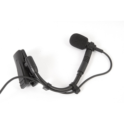Electro Voice RE 920TX Premium cardioid instrument mic with a custom shock mounting clip and TA4 connector