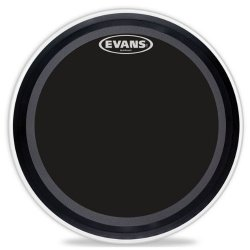 "Evans BD22EMADONX EMAD Onyx 22"" Bass Drum Batter Head"